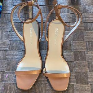 Bcbg platform strappy sandals